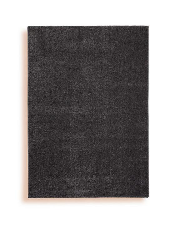 Webteppich Gisela 120x170 cm - Grau, Textil (120/170cm) - Ombra