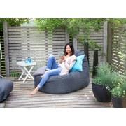 Outdoorsitzsack Slope XL B: 115 cm Schwarz - Schwarz, Basics, Textil (115/80/140cm) - Ambia Garden