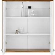 Závěsná Skřiňka Milano - bílá/hnědá, Moderní, dřevo (60/62/19cm) - MÖMAX modern living