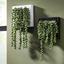 Závesný Kvetináč Hannah - biela/zelená, umelá hmota/kameň (19,5/19,5/13cm) - Mömax modern living