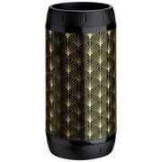 Schirmständer Umbrella Gold/Schwarz - Goldfarben/Schwarz, MODERN, Kunststoff/Metall (26,8/51,6cm)