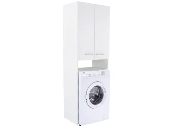 Überbauregal Wash in Weiß - Weiß, KONVENTIONELL, Holzwerkstoff (65/185,3/38cm)