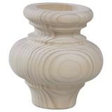 Fußset Möbelfuß H: 90 cm Fichte - Fichtefarben, Basics, Holz (90cm)