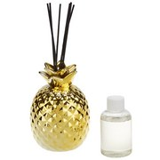Diffuser Ananas - Goldfarben, LIFESTYLE, Glas (0,1l) - Luca Bessoni