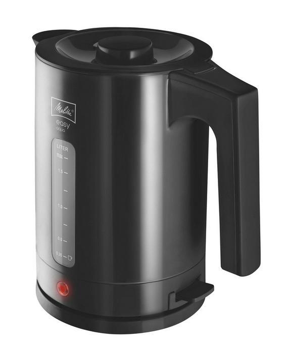 Wasserkocher 211.395 Easy Aqua - Schwarz, KONVENTIONELL, Kunststoff (17,6/23/25cm) - Melitta