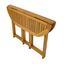 Gartenklapptisch Klapptisch L: 110 cm Braun - Braun, Basics, Holz (110/70/74cm) - Ambia Garden