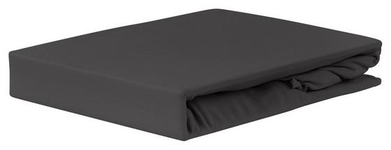 Gumis Lepedő Jardena Antracit - Antracit, konvencionális, Textil (180-200/200cm) - OMBRA