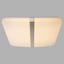 LED-Deckenleuchte Jana - Opal/Weiß, MODERN, Kunststoff/Metall (53,5/53,5/6cm)