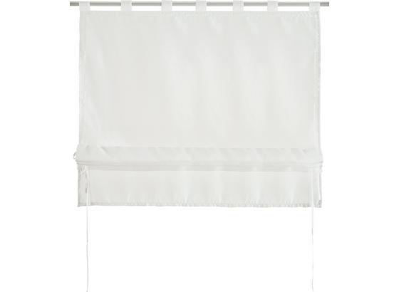 Stuhová Roleta Nina, 100/140cm, Biela - biela, textil (100/140cm) - Mömax modern living