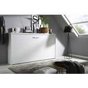 Klappbett Albero 90x200 cm Weiß - Weiß, Design, Holzwerkstoff (90/200cm) - Carryhome