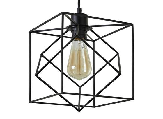 Svítidlo Závěsné Fano - černá, Moderní, kov/umělá hmota (20/20/125cm) - Mömax modern living