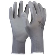 Arbeitshandschuhe Ida Gr. 8 - Grau, KONVENTIONELL, Textil (20cm) - GEBOL