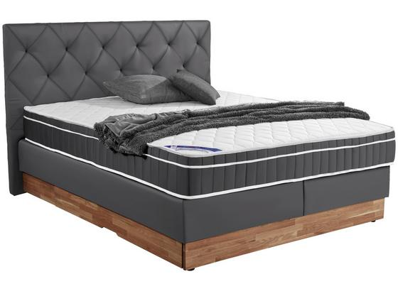 61a4ef03810b34 Boxspringbett Mara 180x200 Grau online kaufen ➤ Möbelix