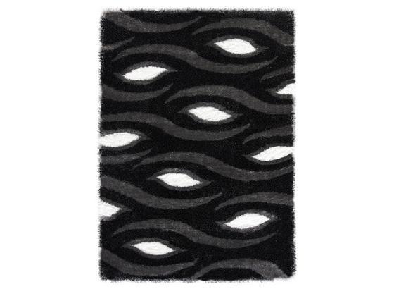 Shaggy Antonija 160x220 cm - Grau, ROMANTIK / LANDHAUS, Textil (160/230cm) - James Wood
