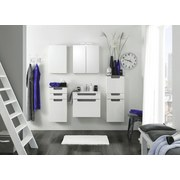 Spiegelschrank mit Led Siena B: 60cm Weiß - Weiß, MODERN, Holzwerkstoff (60/65/20cm) - MID.YOU