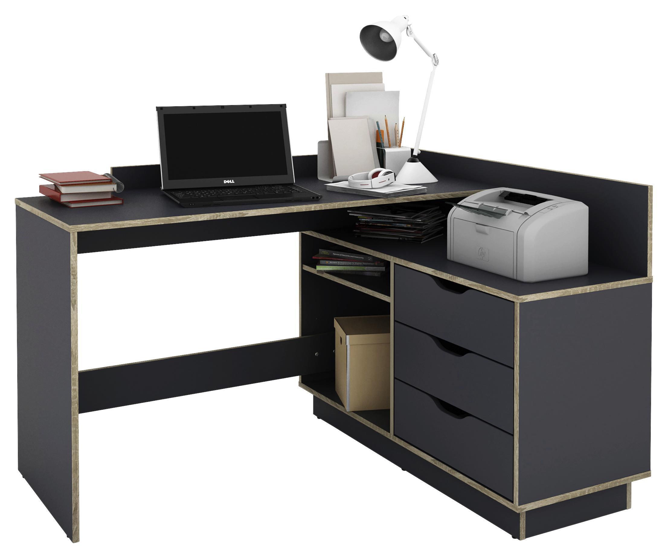 Schreibtisch BALTASAR Anthrazit