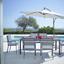 Zahradní Židle Sammy 1 - šedá/antracitová, kov/umělá hmota (57/90/57cm) - Mömax modern living