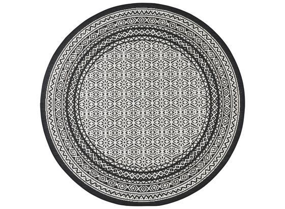 Hladko Tkaný Koberec Arizona - čierna, Moderný, textil (160/160cm) - Modern Living