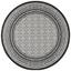 Koberec Tkaný Na Plocho Arizona - černá, Moderní, textil (160/160cm) - Modern Living