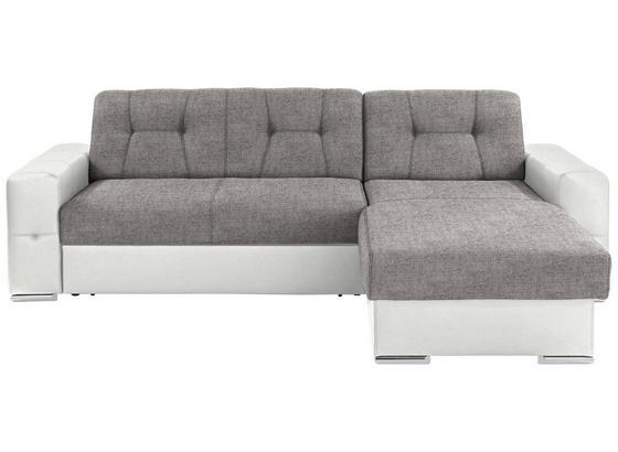 Sedacia Súprava Fulton - sivá/biela, Basics (260/160cm)