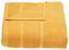Ručník Melanie - žlutá, textil (50/100cm) - Mömax modern living