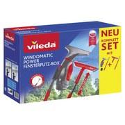Fenstersauger Fensterputz-Box Vileda B: 27cm - Rot/Schwarz, Basics, Kunststoff (27/34/12cm) - Vileda