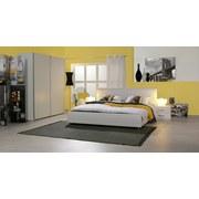 Schwebetürenschrank 170cm Starter, Weiß Dekor - Weiß, Design, Holzwerkstoff (170/195/60cm) - Carryhome