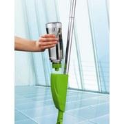 Bodenwischer Cleanmaxx Spray Mopp - Hellgrün, Basics, Kunststoff/Textil (34/11,5/128cm)