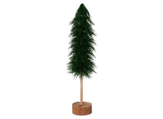 Umelá Rastlina Vianočný Strmček - prírodné farby/zelená, Basics, drevo/plast (63cm)