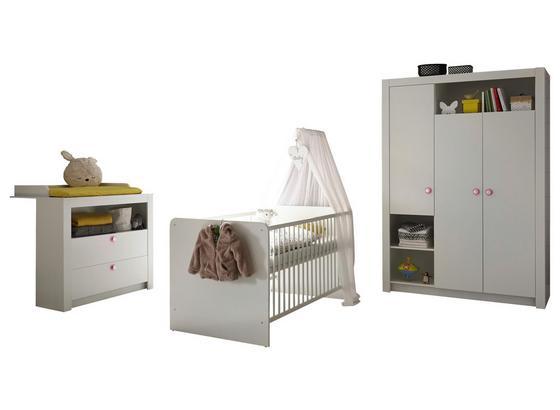 Babyzimmer Paula 3 Teilig Weiss Online Kaufen Mobelix