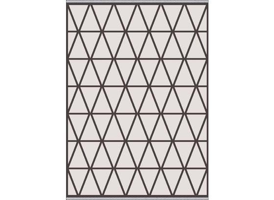 Hladko Tkaný Koberec Phoenix 3 - sivá/antracitová, Moderný, textil (160/230cm) - Modern Living