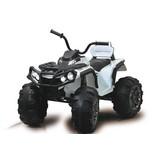 Ride-On Quad Protector Weiß - Schwarz/Weiß, Basics, Kunststoff (103/65,5/67cm)