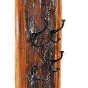 Garderobenpaneel Lissabon B: 35 cm Altholz - Multicolor, Basics, Holz (35/8/110cm)