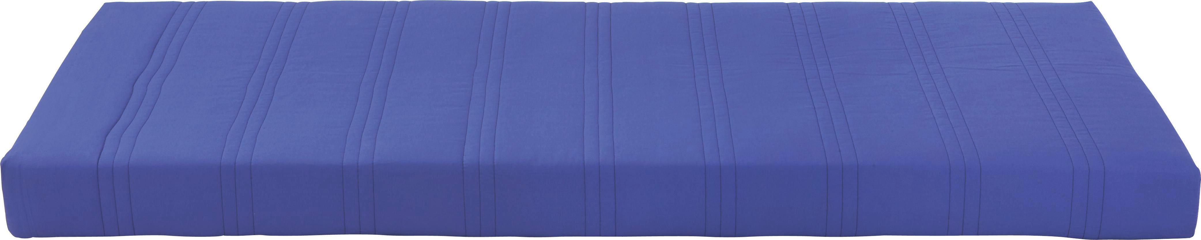 Bonellfederkernmatratze Kim - Blau, MODERN, Textil (90/200cm)