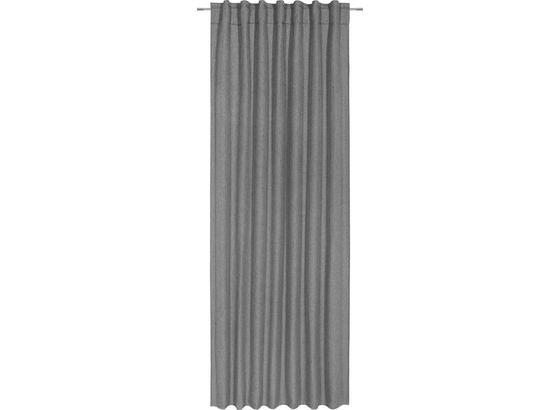 Záves Jakob - antracitová, textil (140/245cm) - Mömax modern living