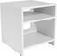 Beistelltisch Luca - Weiß, MODERN, Holzwerkstoff (40/40/37cm)
