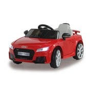 Kinderauto Ride-On Audi Tt Rs Rot - Rot/Silberfarben, Basics, Kunststoff (102/63/41,5cm)