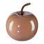 Dekoračné Jablko Provence I - staroružová, keramika (8/6,5cm)