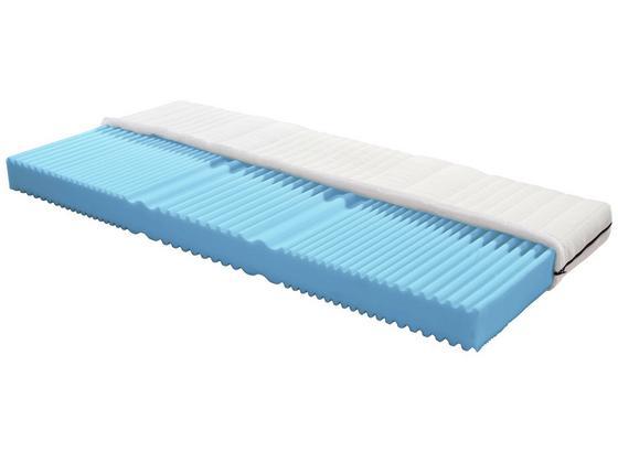 Komfortschaummatratze Flex 90x200cm H2 - Weiß, MODERN, Textil (200/90cm) - Primatex