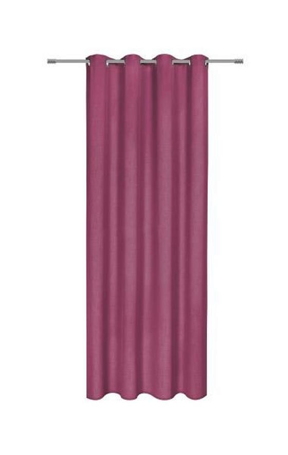 Záves S Krúžkami Ulli - farba lila, textil (140/245cm) - Mömax modern living