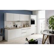 Küchenblock Venedig 1044.6249 B:330cm - Eichefarben/Weiß, Design, Holzwerkstoff (330cm) - MID.YOU