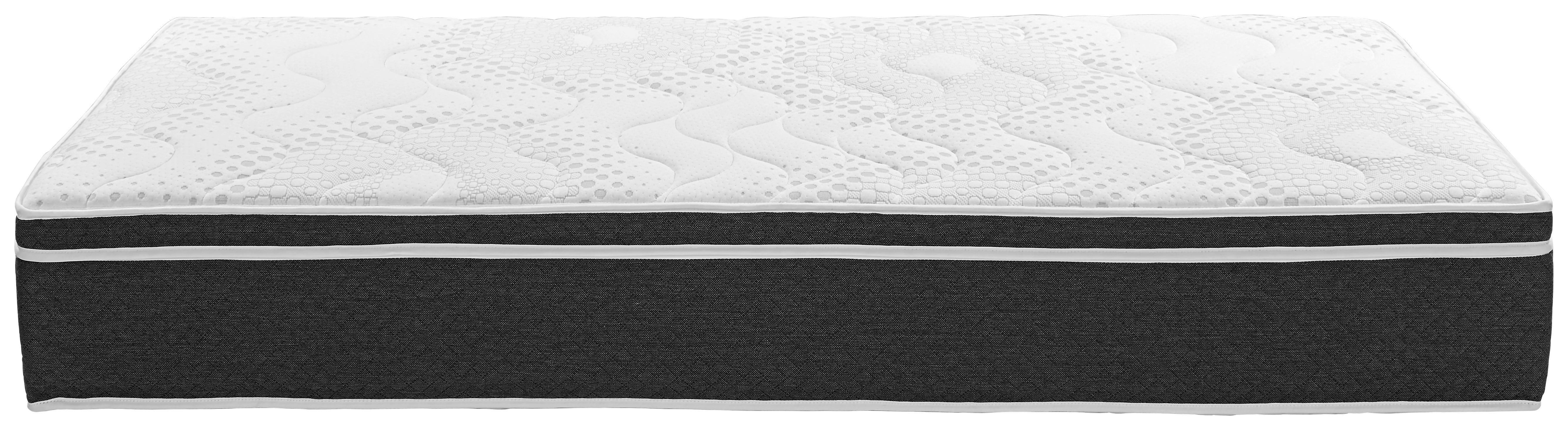 Boxspring Matrac Harmony Top H2 - fehér, textil (90/200cm)