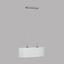 Hängeleuchte Pasteri - Weiß/Nickelfarben, MODERN, Textil/Metall (75/22/110cm)
