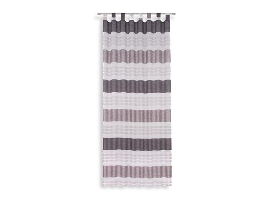 Kombivorhang Ulli - Schwarz, MODERN, Textil (140/255cm) - Luca Bessoni