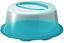 Tortenglocke Josefa - Blau/Transparent, KONVENTIONELL, Kunststoff (34/15cm) - Ombra