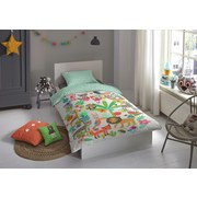 Bettwäsche Happy - Multicolor, Basics, Textil