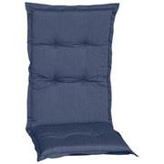 Sesselauflage Bali Hochlehner D606 - Blau, Basics, Textil (114/47/5cm)