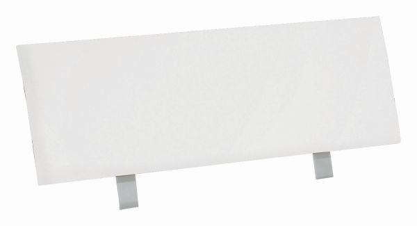 Záhlavie Belia - biela, Konvenčný, drevený materiál (120cm)