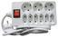 Steckdosenleiste mit Schalter - Weiß, KONVENTIONELL, Kunststoff (150cm)