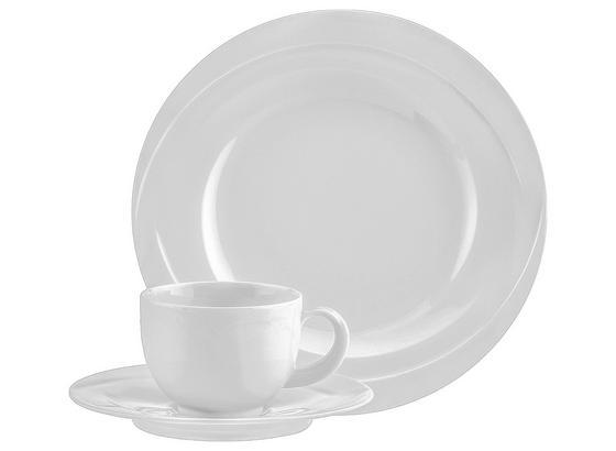 Kaffeeservice Monaco Uni 7 - Weiß, KONVENTIONELL, Keramik (24/24/31,6cm) - Seltmann Weiden